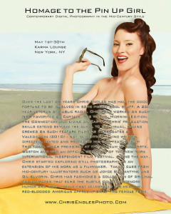 Homage to the Pin-Up Girl Chris Engles